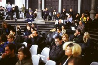 Audience at Free Bitflows Conference