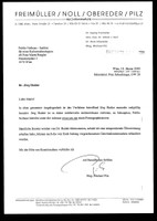 Jörg Haider lost. Letter of the lawyer